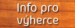Informace pro výherce