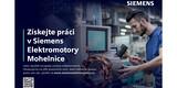 ilustrační obrázek k článku Získejte práci v Siemens Elektromotory Mohelnice