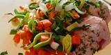 ilustrační obrázek k článku Krůtí prsa se zeleninovou rýží