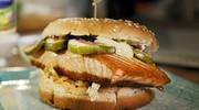 ilustrační obrázek k článku Lososový Samurai burger