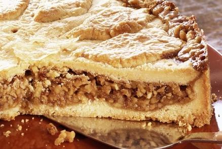 ilustrační obrázek k článku Sváteční ořechový koláč