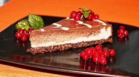ilustrační obrázek k článku Čokoládový cheesecake