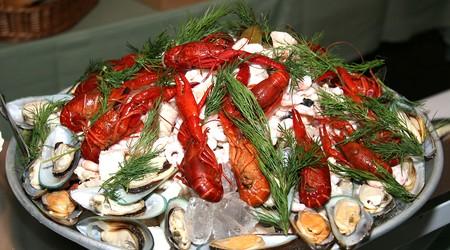 ilustrační obrázek k článku Salát s mořskými plody