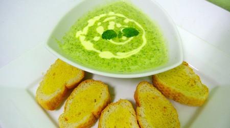 ilustrační obrázek k článku Jemná špenátová polévka
