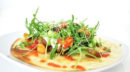 ilustrační obrázek k článku Tortilla s grilovanou zeleninou a sýrem