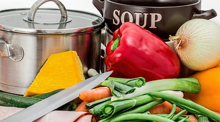 ilustrační obrázek k článku Pestrá zeleninová polévka