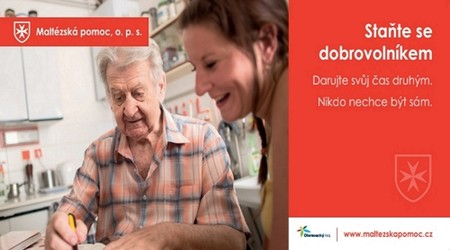 ilustrační obrázek k článku Staňte se dobrovolníkem v Olomouckém kraji pro Maltézskou pomoc!